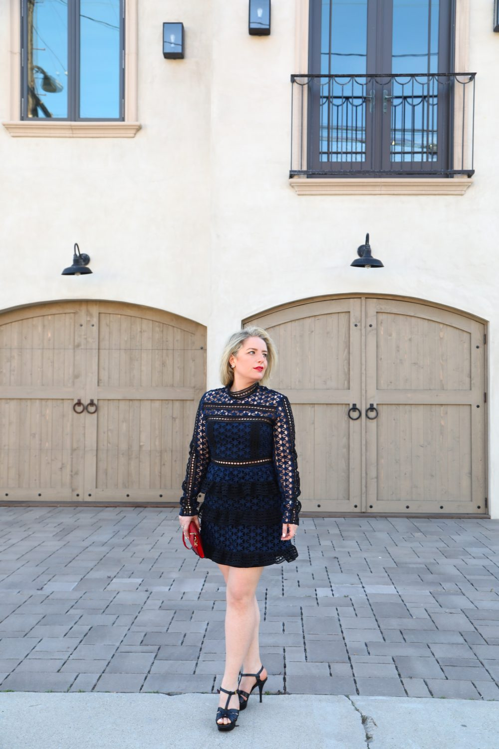 The Perfect Self Portrait Dress by Liz in Los Angeles, Los Angeles Lifestyle Blogger