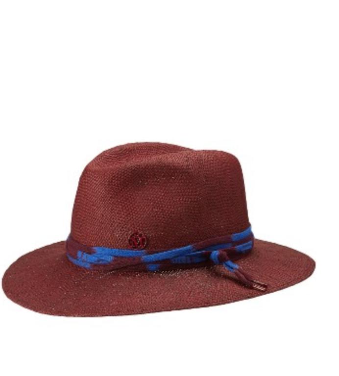 Maison Michel Henrietta Paper Merge Hat