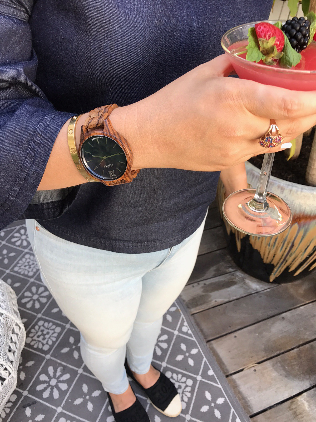 Jord Wooden Watch Styled by Los Angeles Blogger