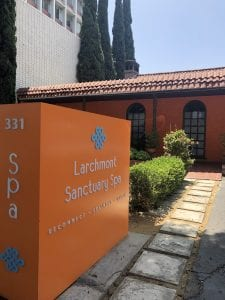 Salt Scrub at Larchmont Sanctuary Spa