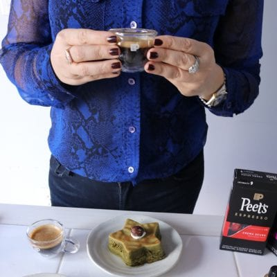 Espresso Moment at Home for the Holidays with Peet's Coffee