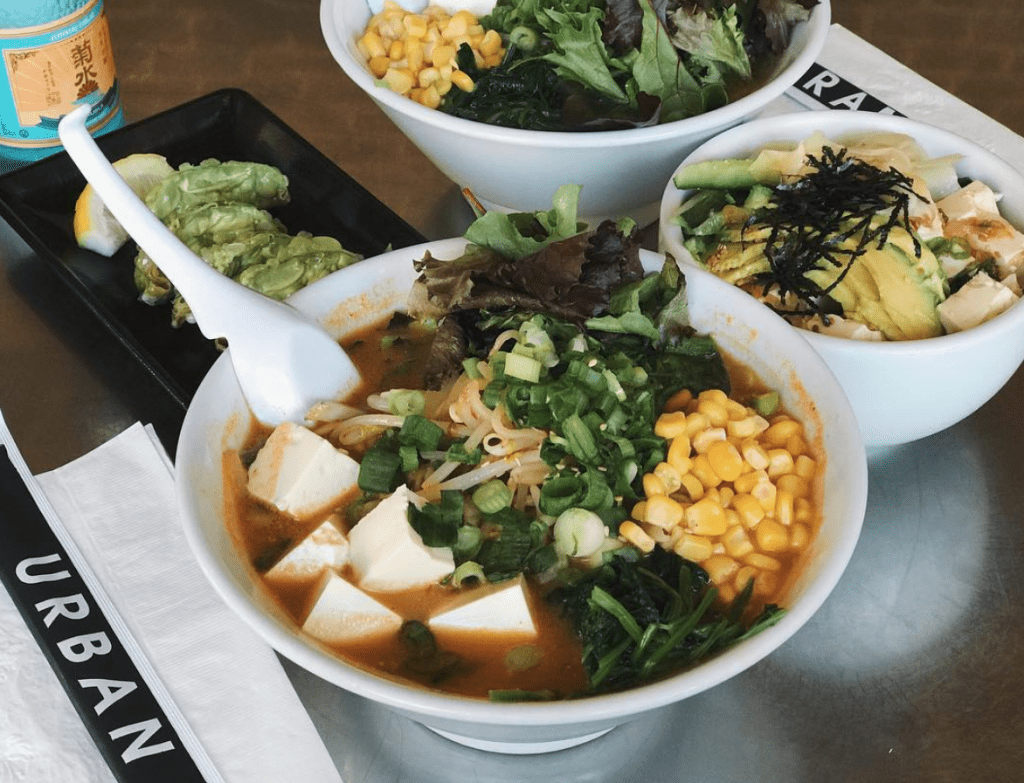 Vegan Ramen in Los Angeles