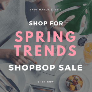 Shop Spring Trends with the Shopbop Sale by Liz in Los Angeles, Los Angeles Lifestyle Blogger