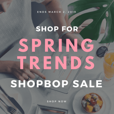 Shop Spring Trends with the Shopbop Sale