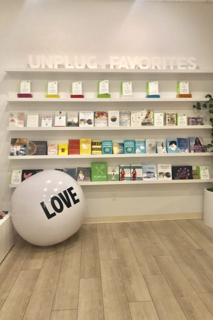 Top 5 Meditation Classes in Los Angeles, a blog by Liz in Los Angeles, Los Angeles Blogger, an image of  a meditation studio with a white ball
