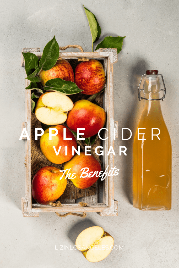 What are the Benefits of Apple Cider Vinegar, a blog post by Liz in Los Angles, Los Angeles Lifestyle Blogger: an image of an apple