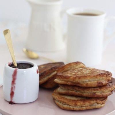 Berry Cheese Latkes Recipe
