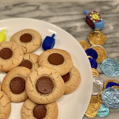 Recipe for Almond Flour Gelt Cookies