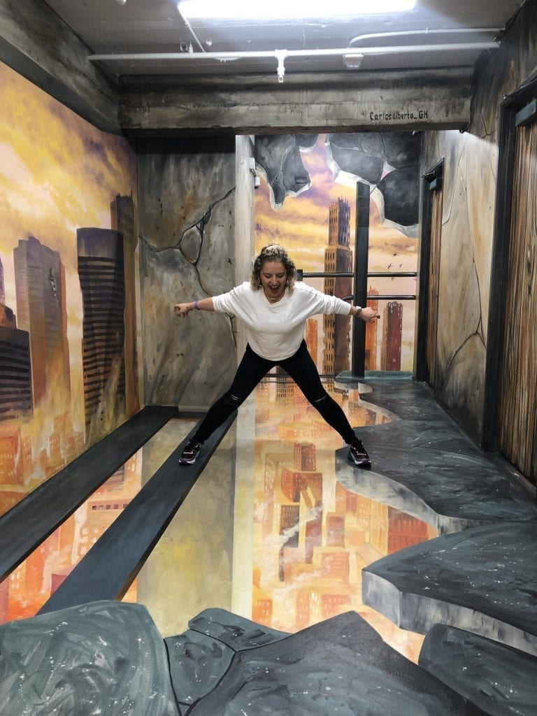 Museum of Illusions by Liz in Los Angeles, Los Angeles Lifestyle Blogger