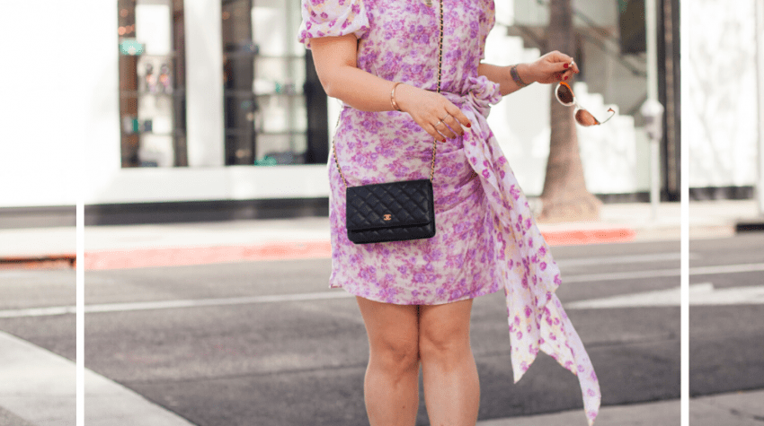 How to Choose Your First Chanel Handbag, a blog post by Liz in Los Angeles, Los Angeles Lifestyle Blogger, an image of blond women in front of Chanel store on Rodeo Drive