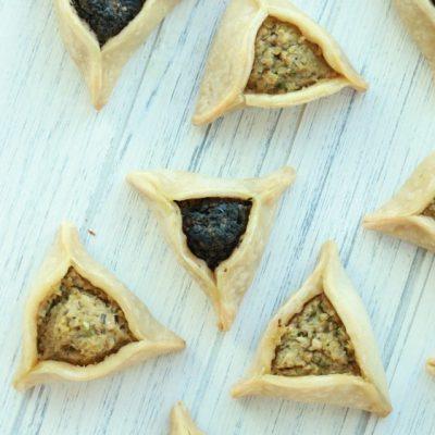 Olive Tapendate Hamantashen (Purim Cookie)