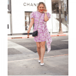 The Best Online Designer Consignment Shops to Buy your Favorite Chanel Bag, a blog post by Liz in Los Angeles, Los Angeles Lifestyle Blogger: an image of a blond woman holding a Chanel bag