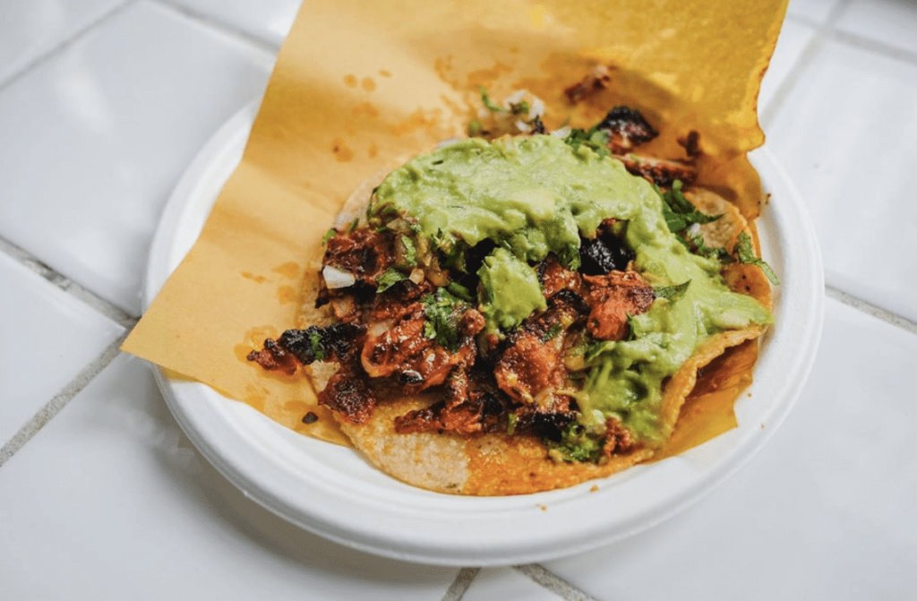 Best Taco Tuesday in DTLA By Top Foodie Bloggers, a blog post by Liz in Los Angeles, Los Angeles Lifestyle Blogger: an image of tacos