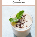 Top 5 Easy Vegan Recipes for Beginners to Make During Self Quarantine, a blog post by Liz in Los Angeles, Los Angeles Lifestyle Blogger, an image of a smoothie