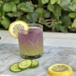 Top 5 Gin Cocktails to Make at Your Next Virtual Happy Hour, a blog post by Liz in Los Angeles, Los Angeles Lifestyle Blogger: an image of a gin cocktail