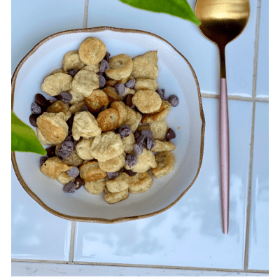 Recipe for Mini Pancake Cereal