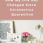 How My Life Has Changed Since Coronavirus Quarantine, a blog post by Liz in Los Angeles, Los Angeles Lifestyle Blogger: an image of a at home office
