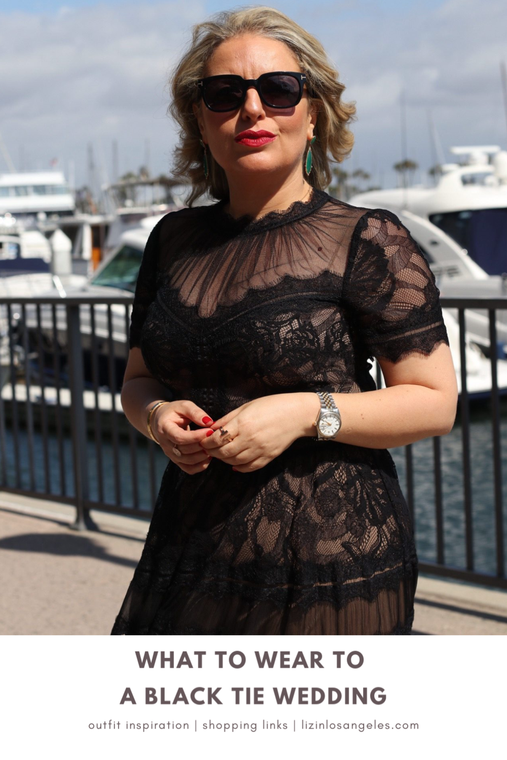 What to Wear to A Black Tie Wedding, a blog post by Liz in Los Angeles, Los Angeles Lifestyle Blogger, an image of a woman in a Gown