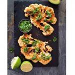 Cauliflower steak, a recipe by Liz in Los Angeles, Los Angeles Lifestyle Blogger, an image of Cauliflower steak
