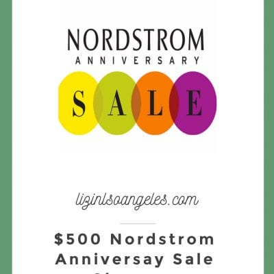 The Ultimate Nordstrom Giveaway: Anniversary Rafflecopter