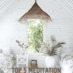Top 5 Meditation Classes in LA by Liz in Los Angeles, Los Angeles Blogger, an image of a meditation room