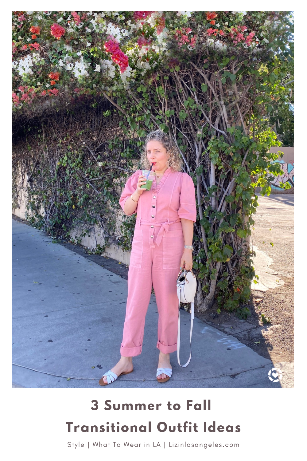 What to Wear in LA, a blog post by Liz in Los Angeles, Los Angeles Lifestyle Blogger, an image of women in a pink jumpsuit