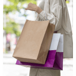Top 7 Things to Do in Los Angeles in September, a blog post by Liz in Los Angeles, an image of a women holding shopping bags