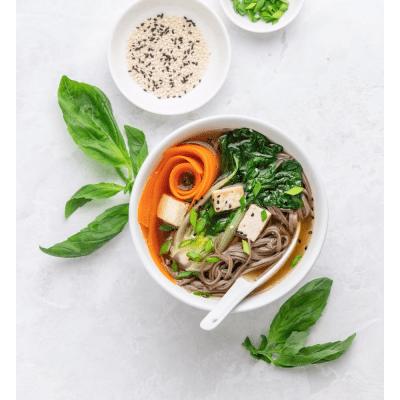 5 Easy Vegan Ramen Recipes, a blog post by Liz in Los Angeles, Los Angeles Lifestyle Blogger, an image of vegan ramen