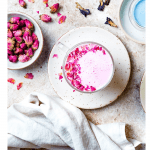 5 Tips to Deal with COVID Anxiety, a blog post by Liz in Los Angeles, top Los Angeles lifestyle blogger: an image of rose latte