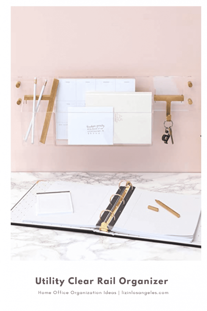 Home Office Organization Ideas: 5 Essentials You'll Need, a blog post by Liz in Los Angeles, top Los Angeles lifestyle blogger: an image of office organizational tools