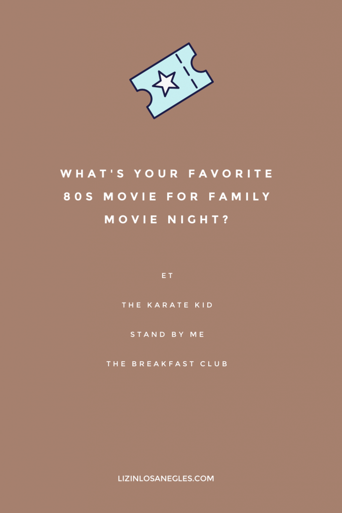 Top 5 Family Movie Night Essentials for Guaranteed Fun, a blog post by Liz in Los Angeles, top Los Angeles lifestyle blogger, an image of a graphic with movie suggestions