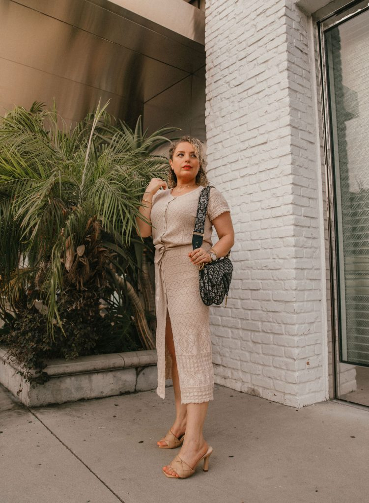 Top 5 Investing Tips for Women, blog post by Liz in Los Angeles, Los Angeles lifestyle blogger, an image of a blonde women in a tan dress with high heels and a Dior bag